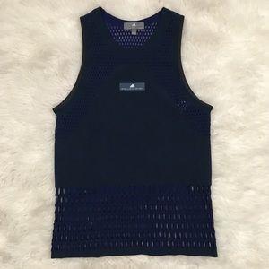 Adidas by Stella McCartney blue top